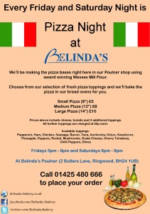 Pizza Night at Belinda's Bakery in Ringwood